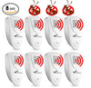 Image of Ultrasonic Ant Repeller - PACK of 8 - 100% SAFE for Children and Pets - Get Rid Of Pests In 7 Days Or It's FREE