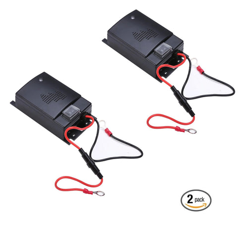 Ultrasonic Car Repeller - PACK of 2 - Get Rid Of Mice, Rats, and Squirrels in 48 Hours