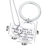Image of Nana's Girl Keychain Set Necklace and Keychain Grandma Gifts