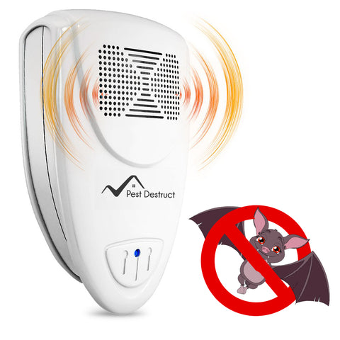Ultrasonic Bat Repellent - Get Rid Of Bats In 72 Hours Or It's FREE