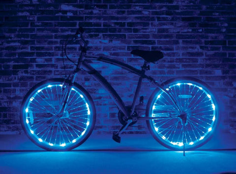 Bike Wheel Lights - BLUE (1 Tire Pack)