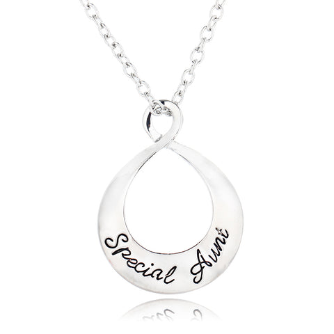 """Special Aunt"" Necklace 