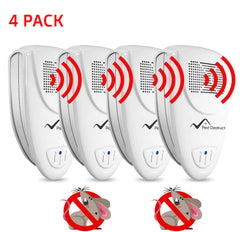 Ultrasonic Mice Repeller - PACK of 4