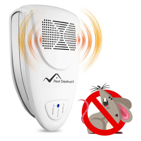 Ultrasonic Mice Repeller - Get Rid Of Mice In 48 Hours Or It's FREE
