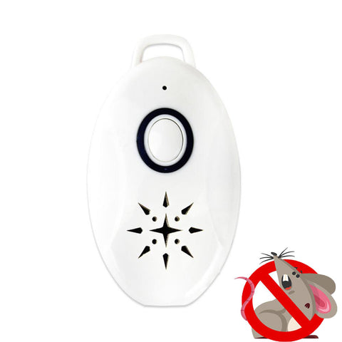 Portable Ultrasonic Battery Operated Mice Repeller - Protect Your Home From Mice