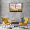 Image of DIY Paint by Numbers Canvas Painting Kit - Sunrise in Paris