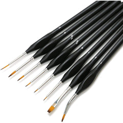 Fine Detail Paint Brush Set 8pcs