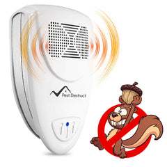 Ultrasonic Squirrel Repeller - Get Rid Of Squirrels In 72 Hours Or It's FREE