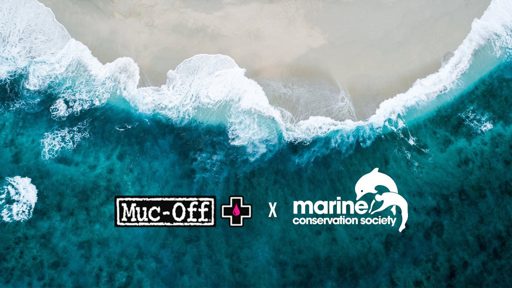 MUC-OFF MAKES DONATION TO MARINE CONSERVATION SOCIETY