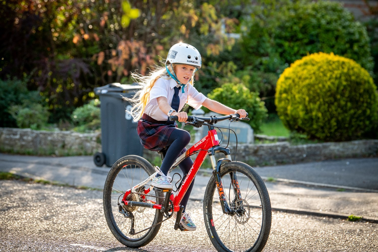 3 easy steps to get your kid's bike ready before they ride to school