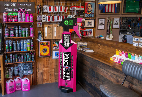 Muc-off Launches Bike Wash in-store Refill Programme with UK Ambassador Stores
