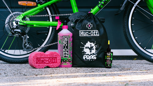 Muc-Off and Frog Bikes join forces to launch co-branded Clean and Lube Kit