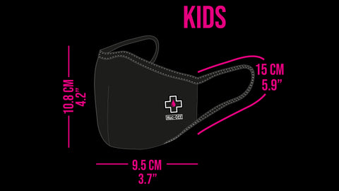 kids mask sizing