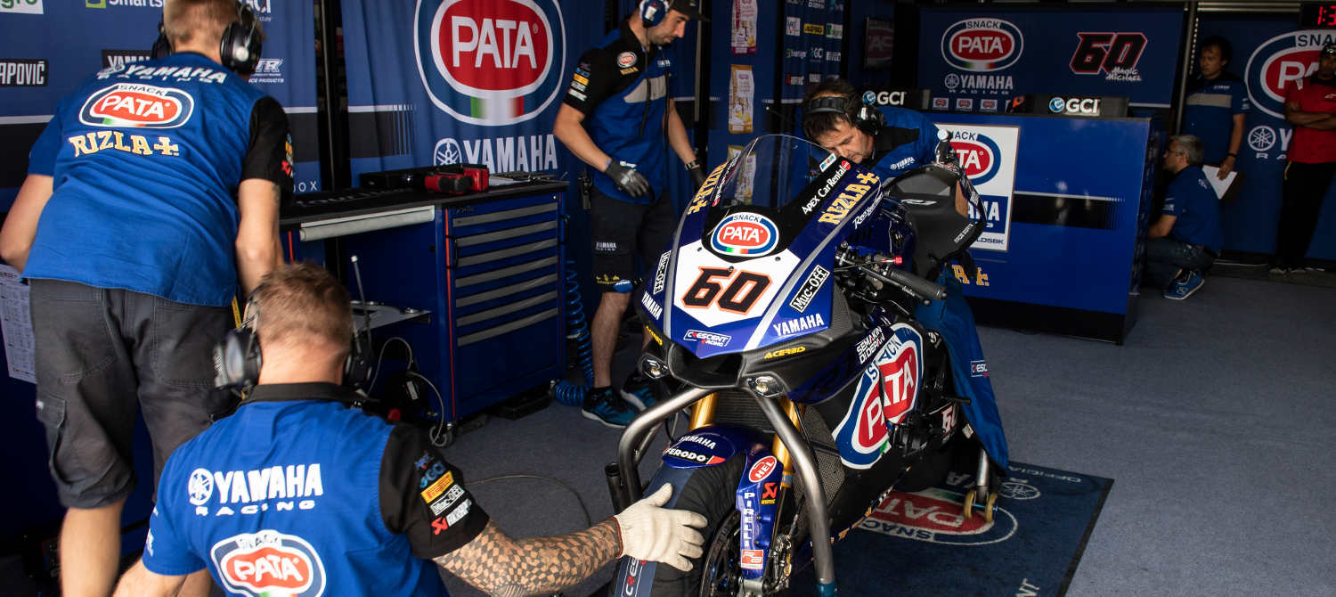 Argentina proved a tough challenge for the PATA Yamaha team | Muc-Off UK