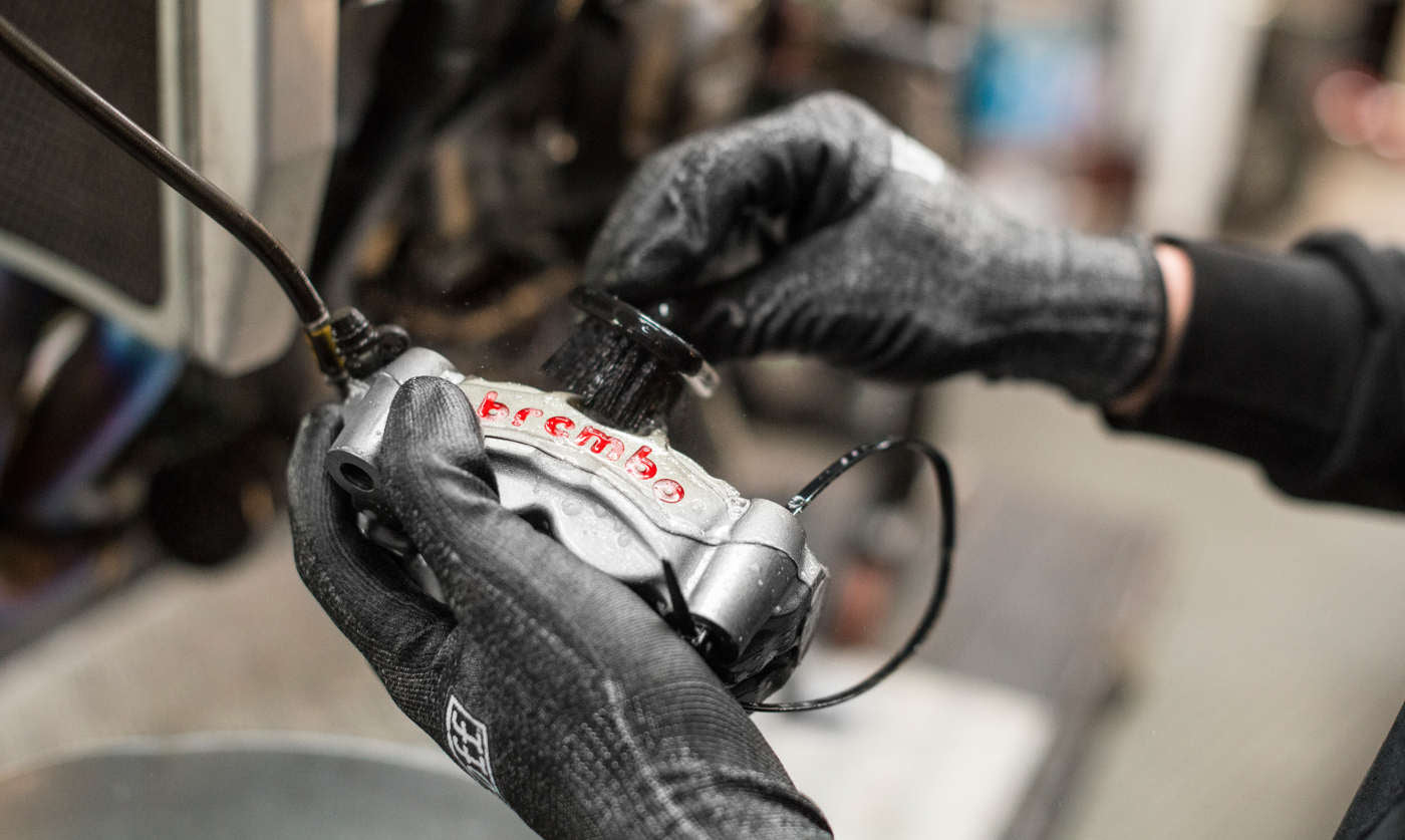 Brake Caliper Cleaning - Out of sight shouldn't mean out of mind