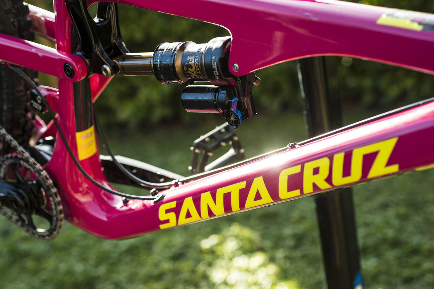 Santa Cruz Mountain Bike