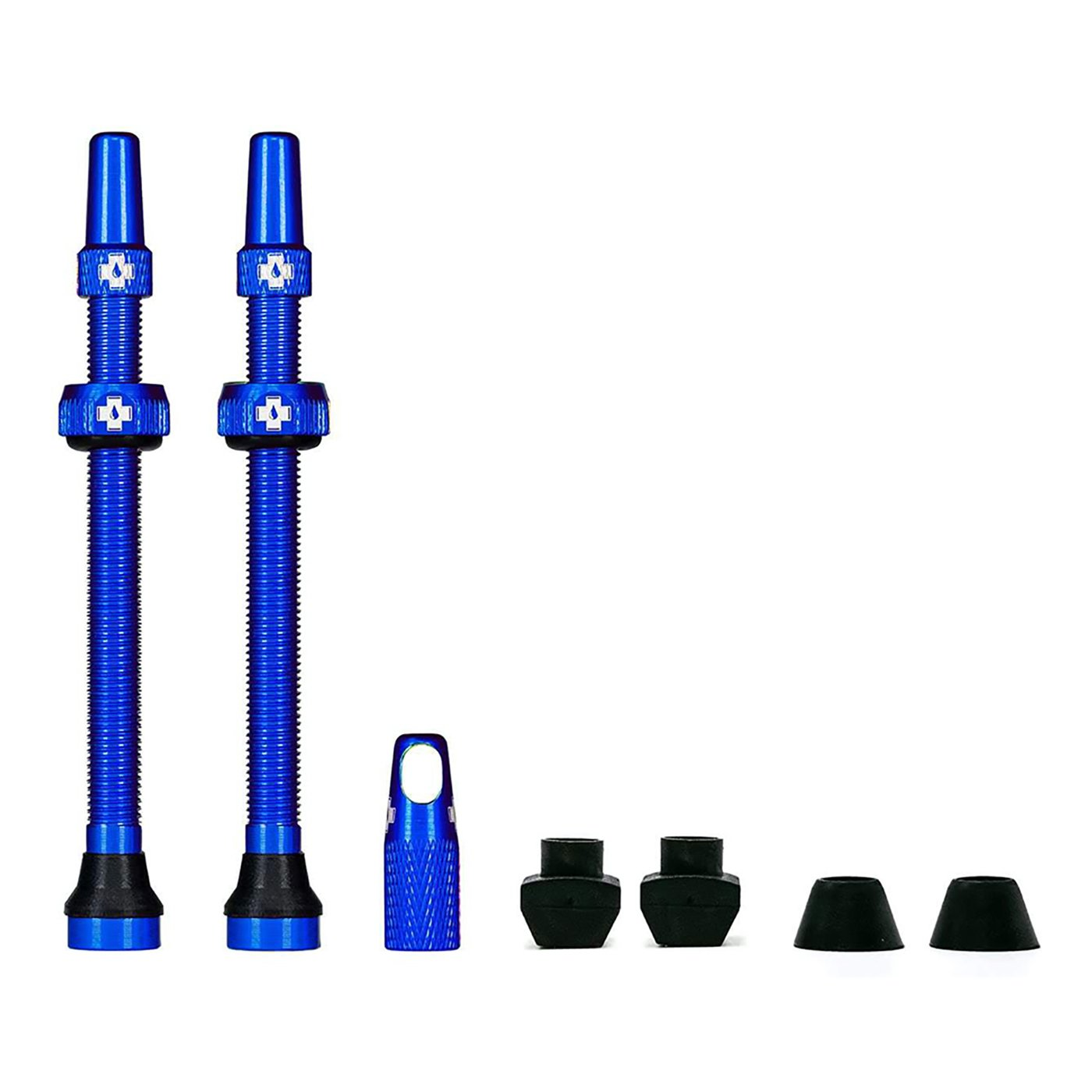 Blue Tubeless Presta Valve (Pair)