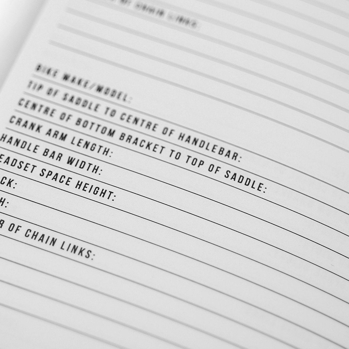 Bike Notes Notebook - Muc-Off