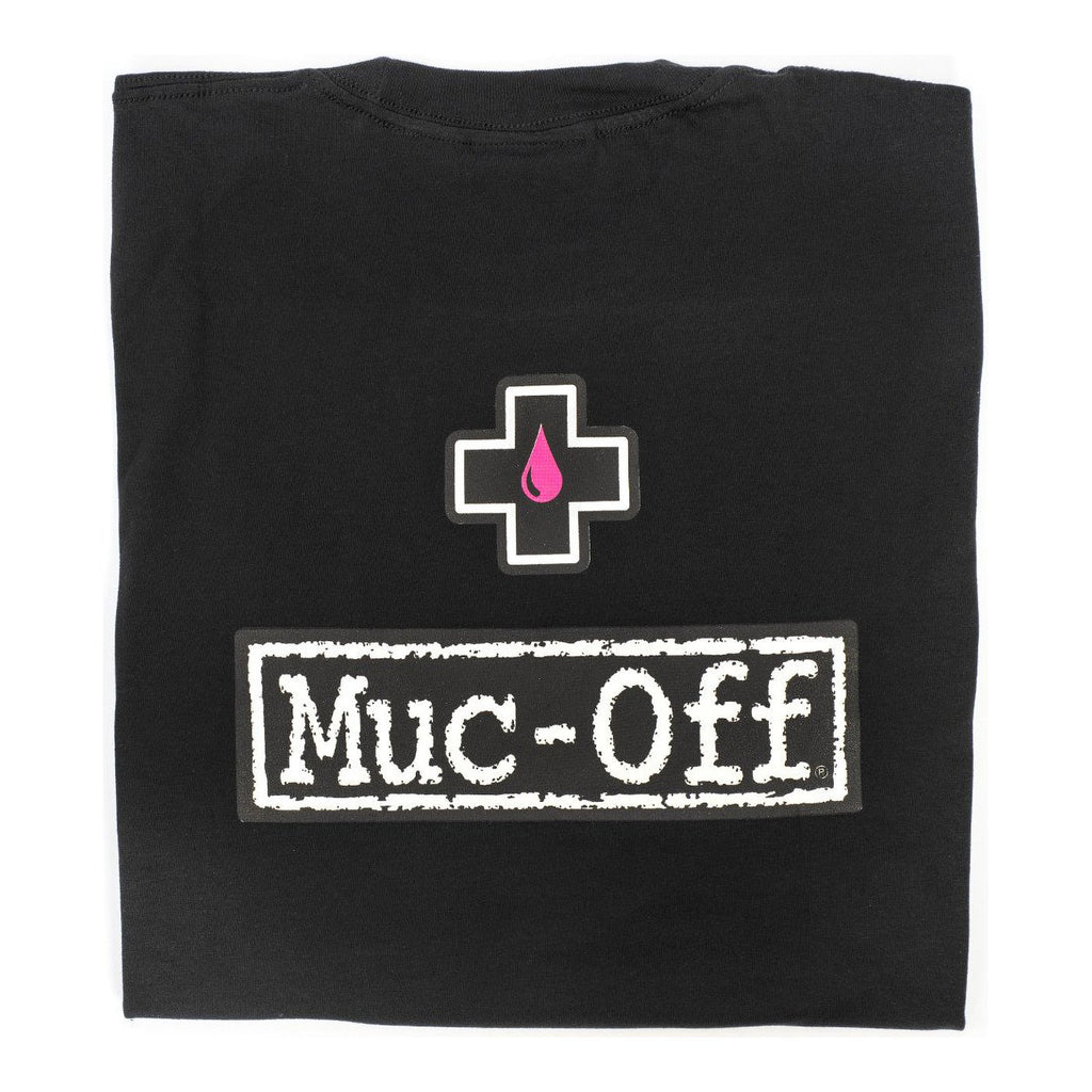 Muc-Off Black (Soft Fitted) Logo T-Shirt