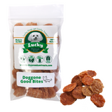 Lucky Premium Treats Dog Treats - Chicken Jerky Doggone Good Bites small bag