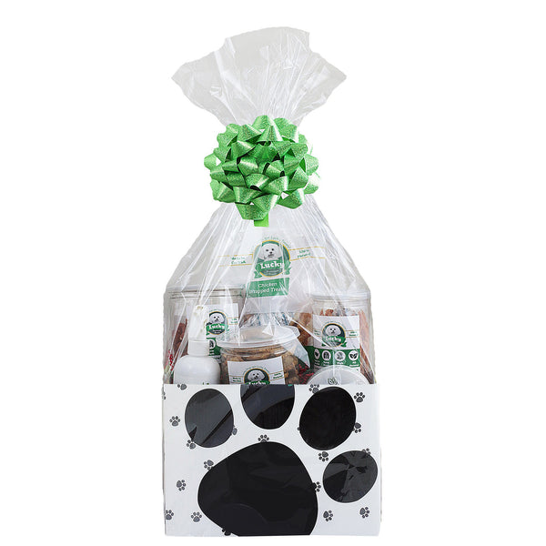 Lucky Premium Treats Gift Basket for Small Dogs
