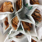 Lucky Premium Treats Dog Treats - Chicken Jerky Bits & Strips, Top View
