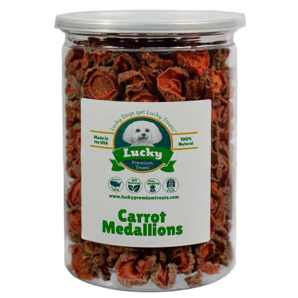 Carrot Medallion Dog Treats
