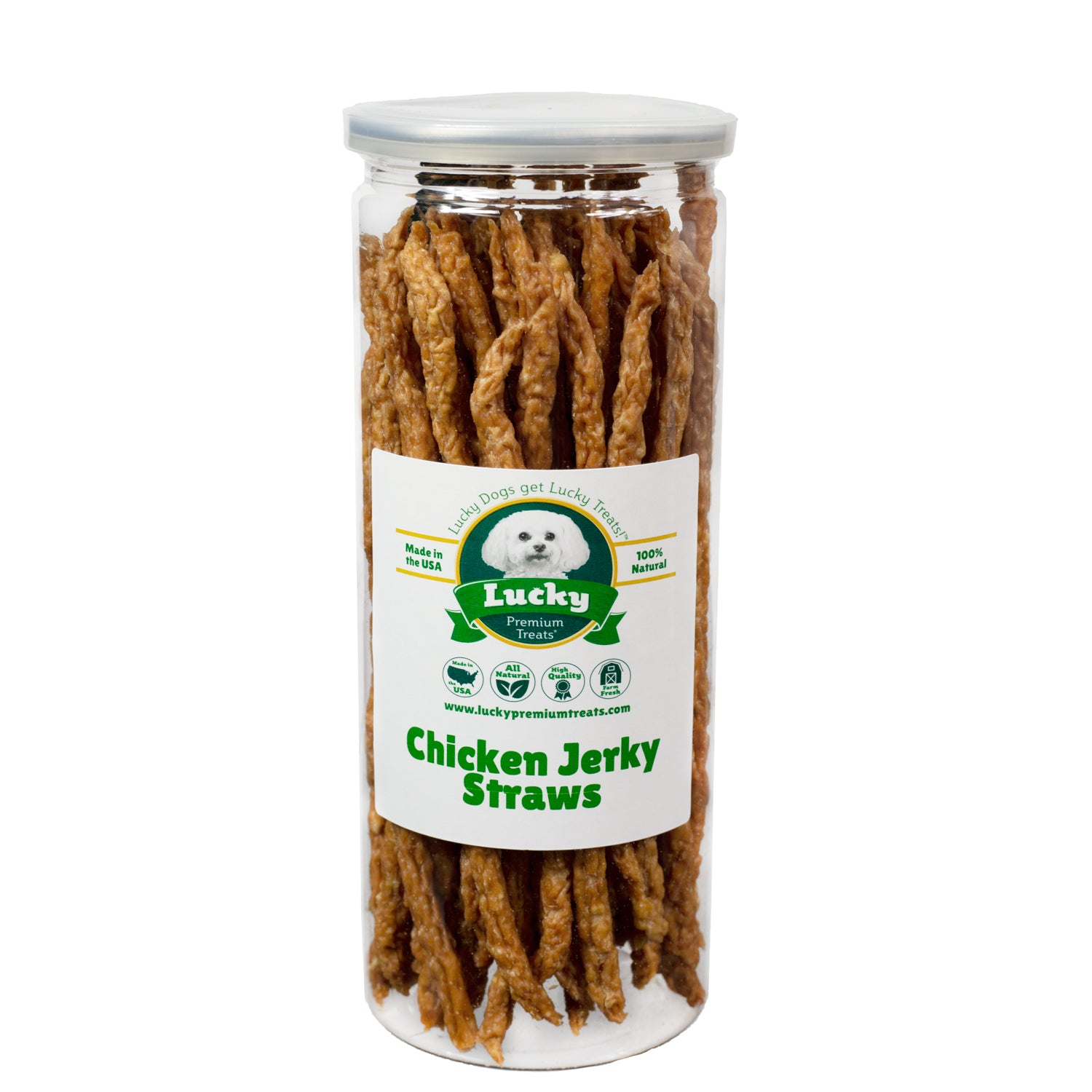 Chicken Jerky Straws
