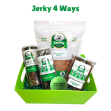 Lucky Premium Treats Gift Basket - Jerky 4 Ways