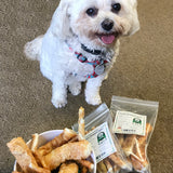 Lucky Dog with Chicken Wrapped Uglies Dog Treats