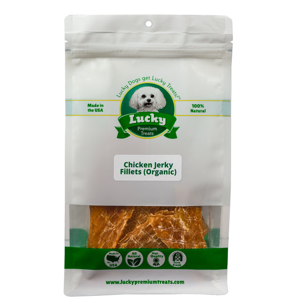 Organic Chicken Jerky Fillets