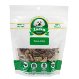 Lucky Premium Treats - Tuna Jerky for Dogs and Cats, Bag