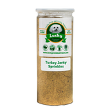 Lucky Premium Treats - Turkey Jerky Sprinkles Dog Treats, Jar