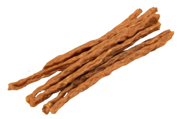 Lucky Premium Treats - Turkey Jerky Straws for Dogs, product