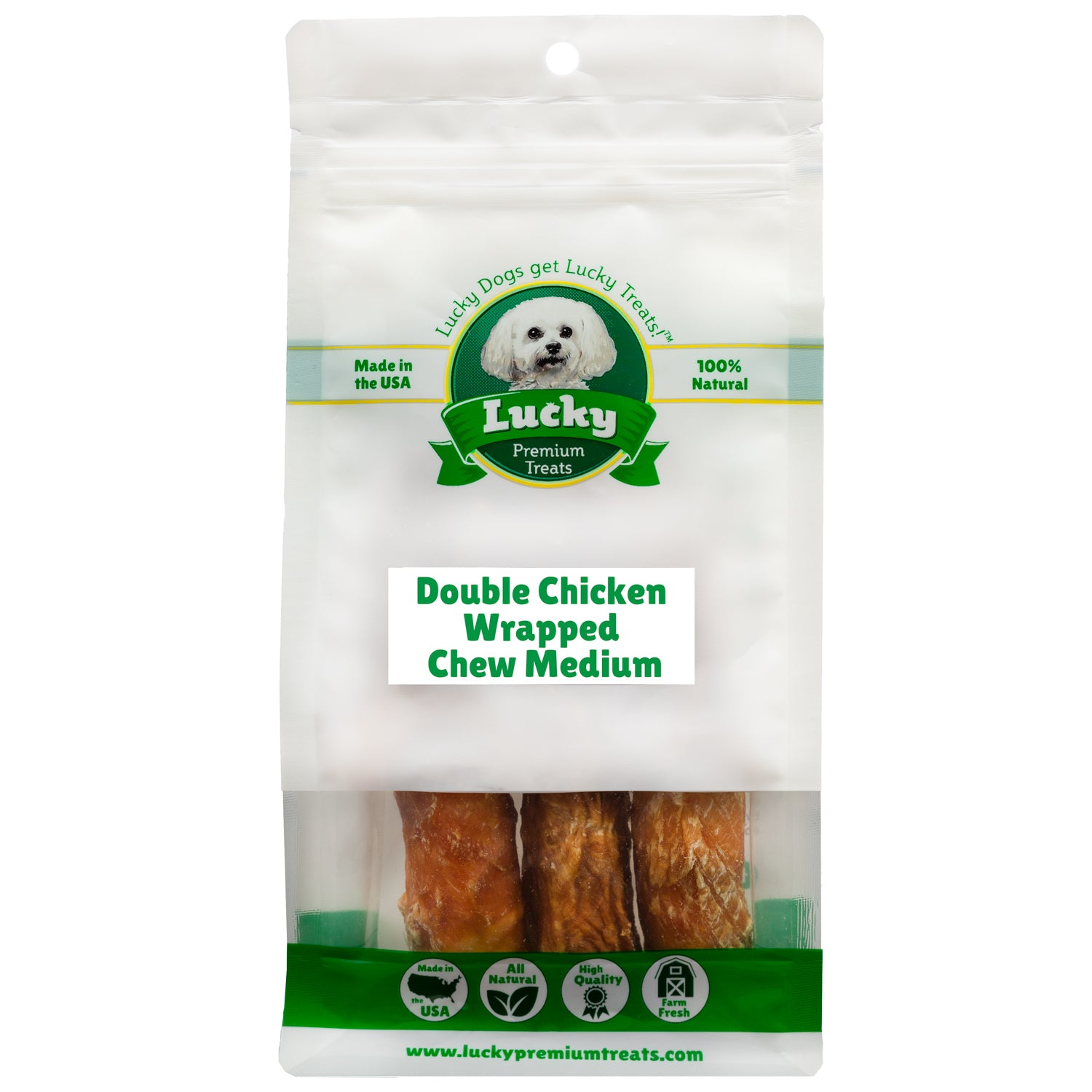 Double Chicken Wrapped Medium Chew