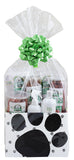 Gift Basket for Large Dogs: Lucky Premium Treats and Pura Naturals Pet Care Products
