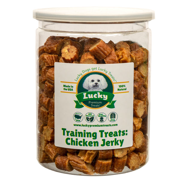 Training Treats Chicken Jerky Dog Treats