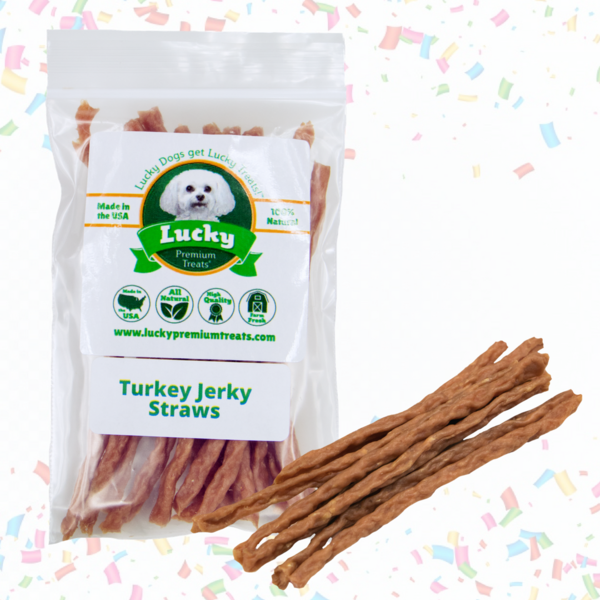 Small Treat: Tasty Turkey Jerky Straws