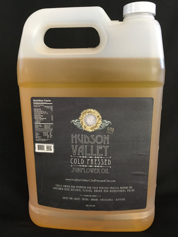 1 Gallon Cold Pressed Sunflower Oil