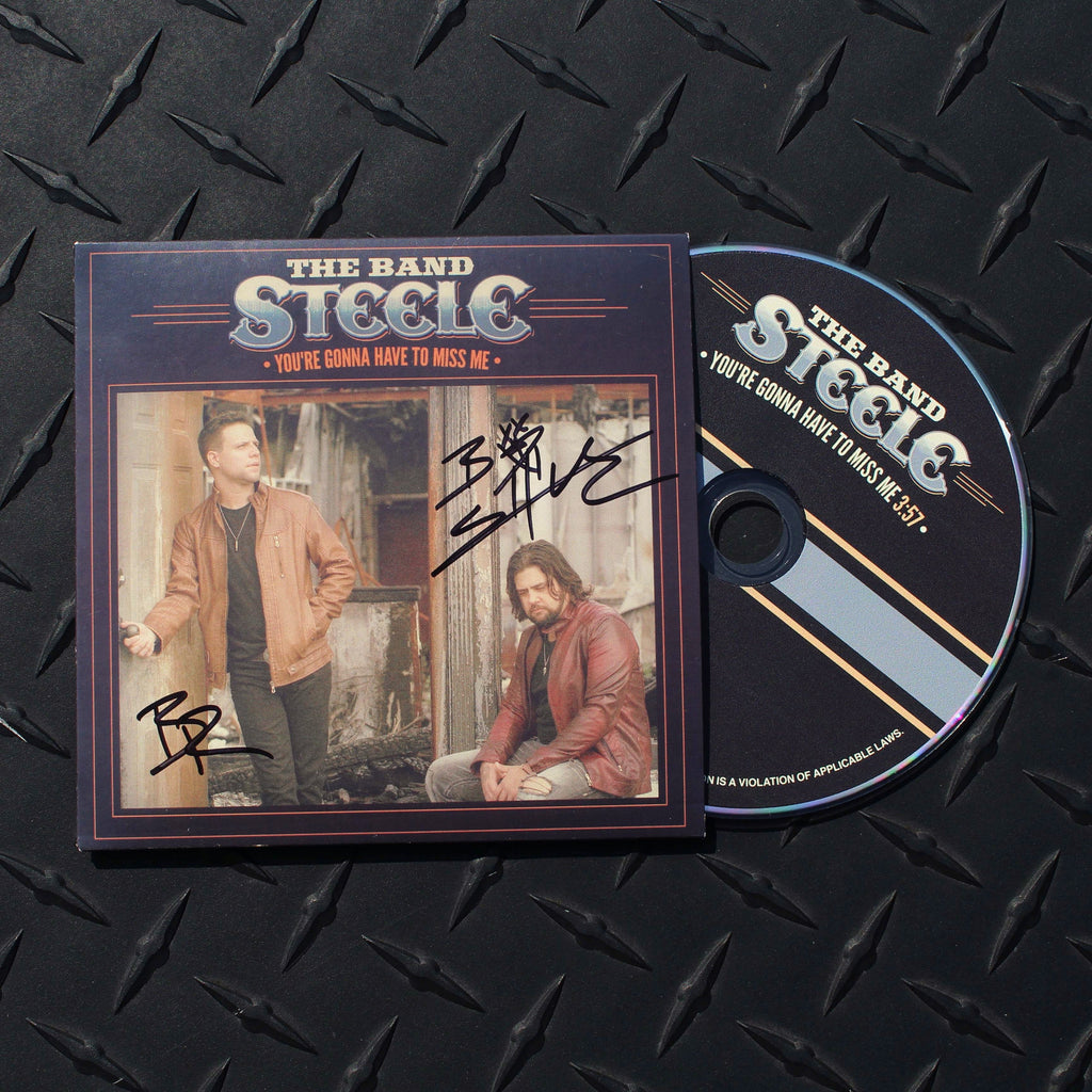 "AUTOGRAPHED ""You're Gonna Have to Miss Me"" CD Single"
