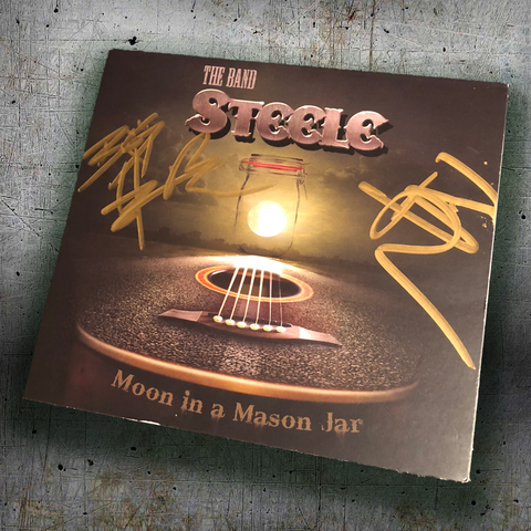 AUTOGRAPHED Moon In A Mason Jar Album CD
