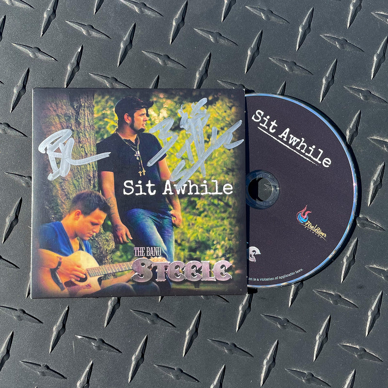 "AUTOGRAPHED ""Sit Awhile"" CD Single"