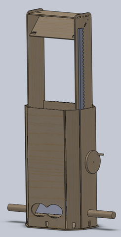 Periscope, first draft CAD drawings