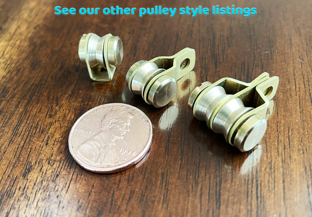 Miniature Double Pulley