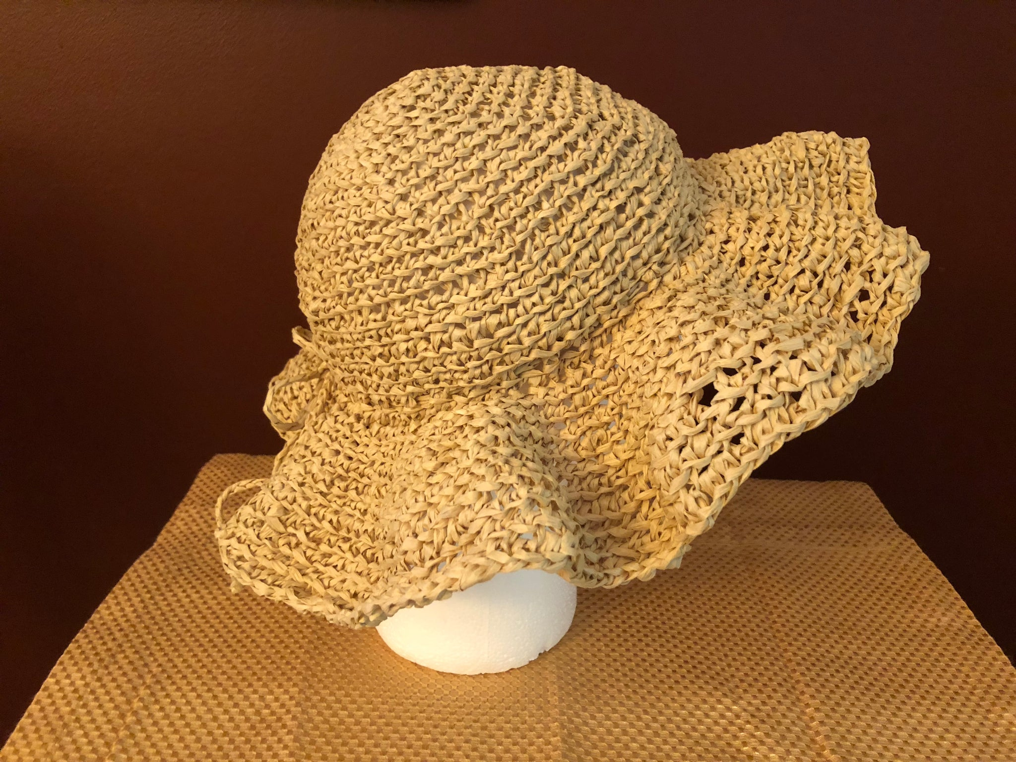 Sun Hat yarn and pattern