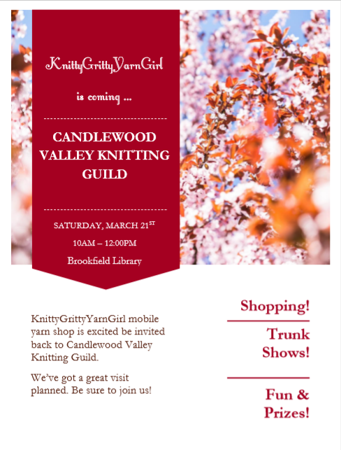 Private Event - Candlewood Valley Knitting Guild
