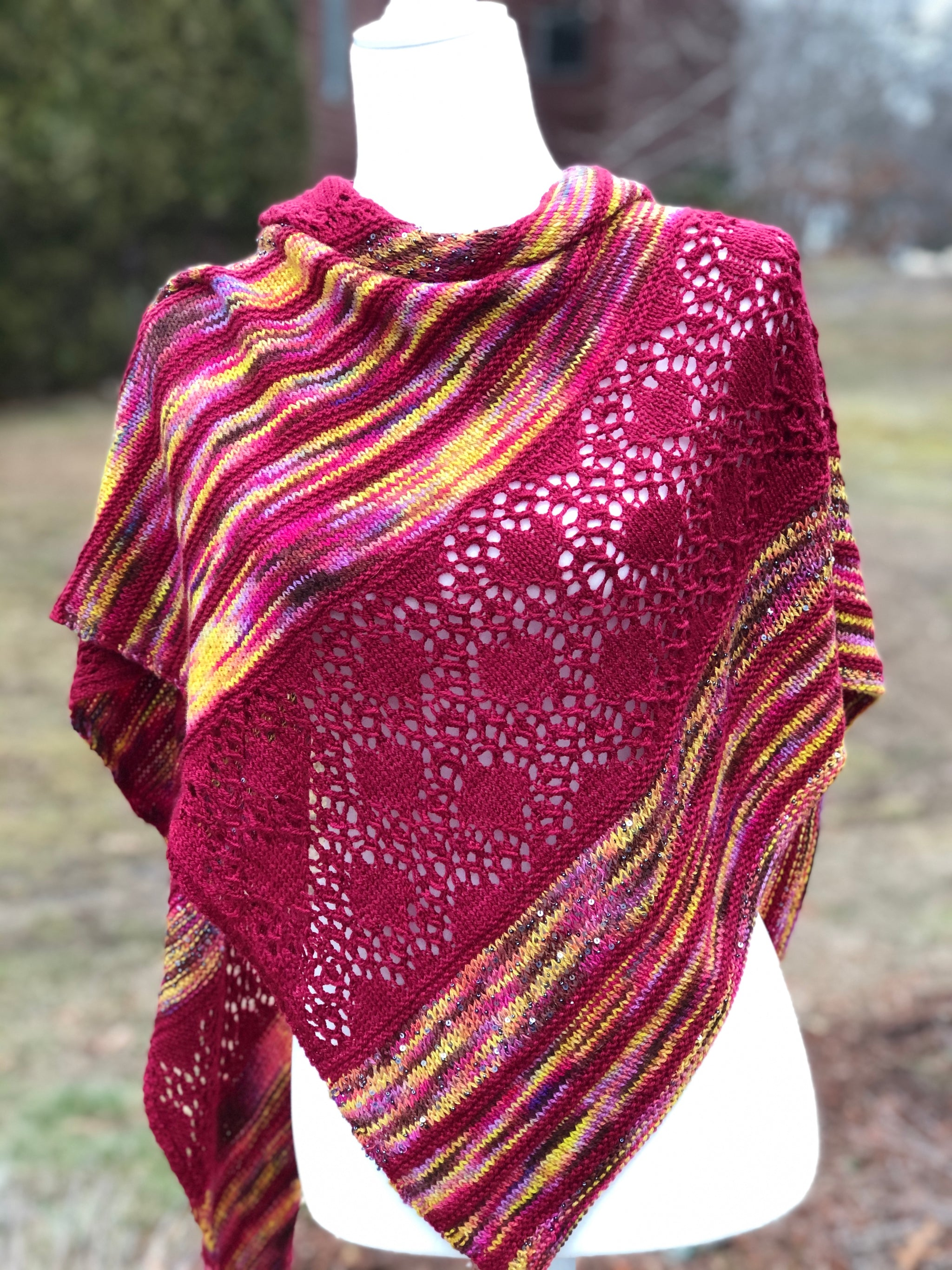 Sadie's Shawl Kit with ArtYarns