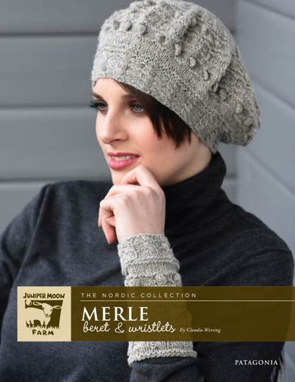 Juniper Moon Farms Merle Beret and Wristlets Kit