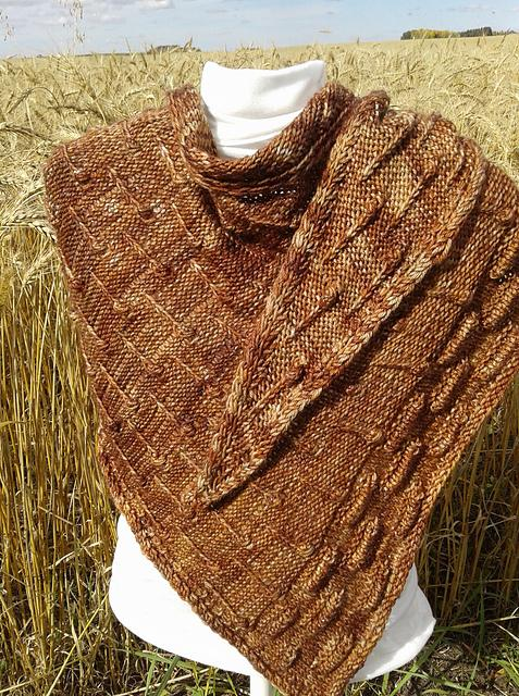 Nupp & Tuck Dragon Tears Shawl