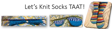 LET'S KNIT SOCKS TWO AT A TIME!